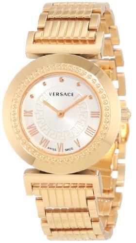 Versace P5Q80D001S080–Montre bracelet pour femme, bracelet en acier inoxydable couleur or
