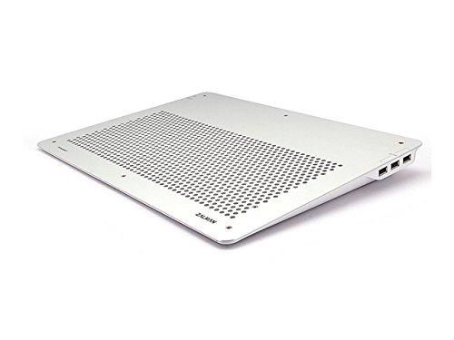 Zalman ZM-NC2000NT(SILVER) Ultra Quiet Kühler für Notebook bis 43,2 cm (17 Zoll) silber