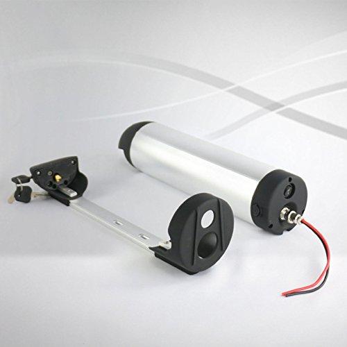 Pedelec - Batteria per Borraccia da 24 V, 17,5 Ah, 420 Wh, Batteria agli ioni di Litio Inclusa BMS + Caricatore