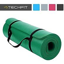 TechFit Colchón para Yoga y Fitness, Espesor Extra, 180 x 60 cm, Ideal