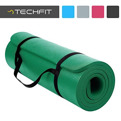 Techfit tc97506green - tappeto fitness da adulto, unisex, colore: verde, taglia unica