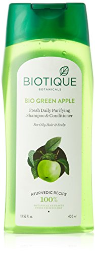Biotique Green Apple Shampoo, 400ml