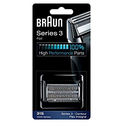 Braun Series 3 Electric Shaver Replacement Foil Cartridge, 31S- Compatible with Braun Series 3 Contour and 5000 Series Flex XP Shavers Only from Procter & Gamble