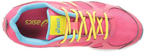 Asics Lil' Muse Fit Synthétique Baskets Raspberry/Lemon/Turquoise'