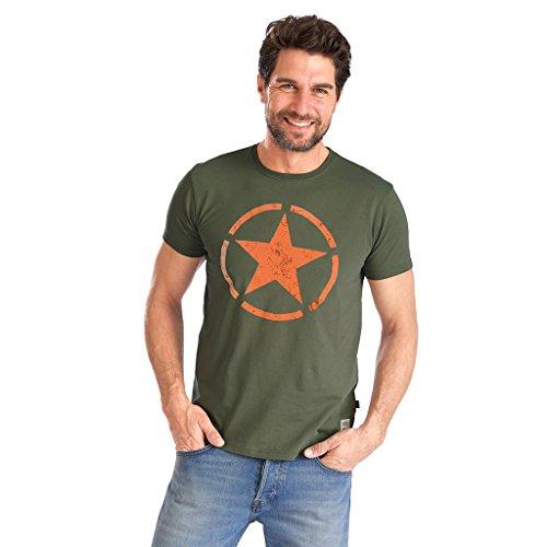 Preisvergleich Produktbild Alpha Industries Herren Oberteile/T-Shirt Star Olive M