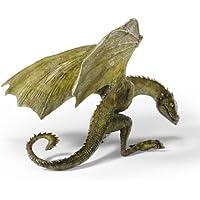 Game of Thrones - Figura da collezione del piccolo drago Rhaegal di Daenerys Targaryen - 7,5 cm - Dipinto a mano - Mano Drago