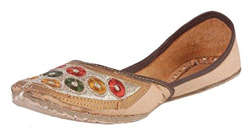 Apni E Dukaan Leather Ethnic Mojari/Jutti for Wome...