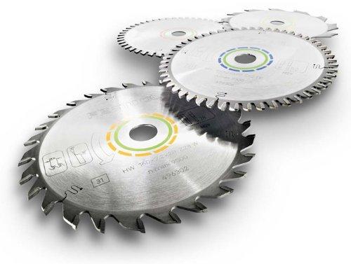 Preisvergleich Produktbild Festool Kreissägeblatt für alle Holzwerkstoffe (Durchmesser 160mm, Schnittbreite 2,2mm, 28 Zähne - Form W, HW 160 x 2, 2 x 20 W28), 496302