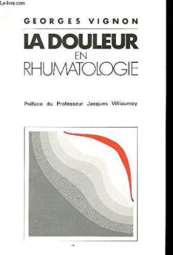 La douleur en rhumatologie