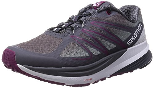 Salomon - Sense Propulse, Scarpe da corsa Donna Grigio (Grau (Dark Cloud/Light Onix/Mystic Purple))