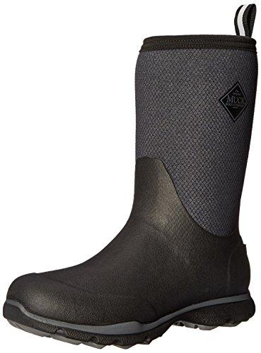 Muck Boots Arctic Excursion Mid, Stivali di Gomma Uomo Nero (Black/ Grey)
