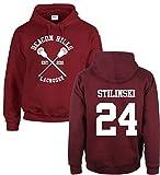 ALIAN Teenager Unisex Lacrosse Sweatshirt Hoodie Fitness Pullover Casual Baumwollmischung Kapuzenpulli Kapuzenpullover Herren