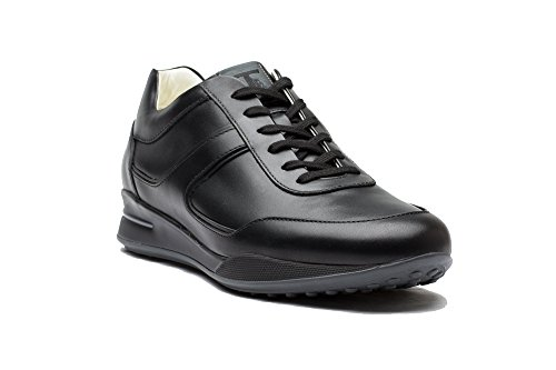 tods-mens-leather-trainers-allaciato-fondo-casseta-low-top-sneakers-shoes-black