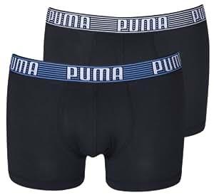 Puma Boxer Homme (Lot de 2) - Noir, Small