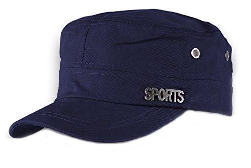 HOMME FEMME Militaire Casquette de Baseball Cap Sport Bonnet Chapeau Snapback JM (Nave)