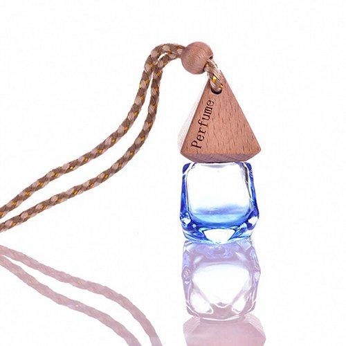 DAEDALUS Bottiglia di vetro vuota da usare come diffusore di fragranza, da appendere in casa o in auto