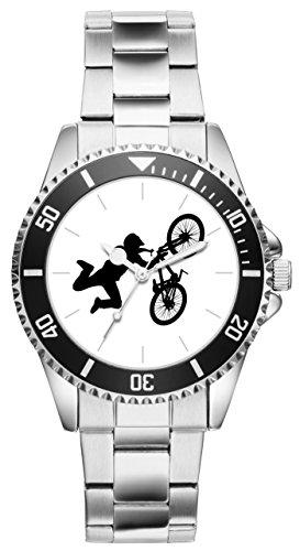 BMX Fahrer Geschenk Artikel Idee Fan Uhr 6118
