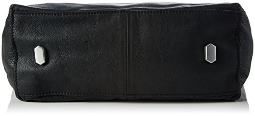 Liebeskind Berlin Damen Kobes7 Baskdd Schultertasche, 29 x 41 x 16 cm Schwarz (nairobi black)