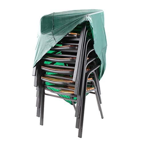 Dbtxwd Outdoor Patio Chair Cover, Stapeln/Liegen Stuhlabdeckung wasserdicht staubdicht Möbelschutz -