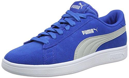 Puma Smash V2 SD Junior, Scarpe da Ginnastica Basse Unisex-Bambini, Blu (Strong Blue-Gray Violet 011), 22/23 EU