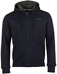 Pierre Cardin Hommes Zip Integral Sweat A Capuche Hoodie Hoody Top Haut Casual