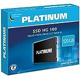 """'Platinum 125819""""HG-1006,4cm (2,5) SSD Disque dur 120Go interne pour ordinateur portable, ordinateur portable et PC, SATA III"""