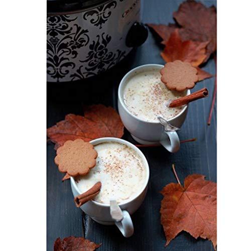 ToDIDAF 5D DIY Diamant Malerei Kreuzstich, Strass Eingeklebte Stickerei Gemälde, Dekoration für Zuhause Wohnzimmer - Vollbohrer (Kaffee) (Blaue Kaffee Tasse Eule)