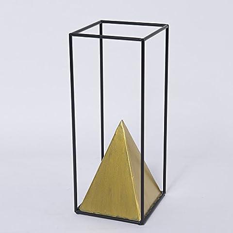 Home mit Ornamenten Pyramide Handwerk Wohnzimmer Studie kreative Eisenmöbeln kleinen Ornamenten, Abs. 1 (Groß)