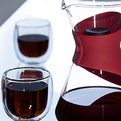 Finum-BLOOM-FLOW-Kaffeebereiter-fr-Handbrh-Kaffee-Kaffeezubereiter-fr-Filterkaffee-Kaffeeaufbereiter-aus-Glas-mit-Filter-Einsatz