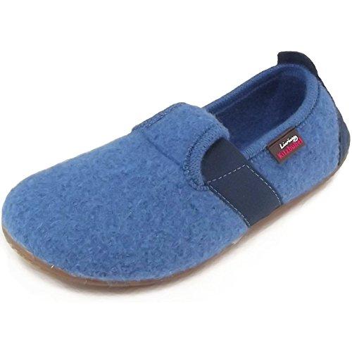 Living Kitzbühel T-Modell uni, chaussons d'intérieur enfant mixte