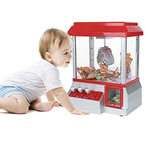 YUSDP Elektronische Arcade-Klauenmaschine mit Sound - umweltfreundlichem PC-Material, Dual-Power-Modus, Top Matte Anti-Rutsch-Behandlungsspaß für Kinder - Perfektes Kindergeschenk -