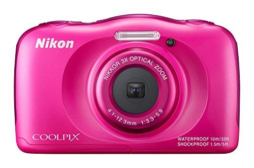 Nikon Coolpix S33 Fotocamera Digitale Compatta, 13,2 Megapixel, Zoom 3X,...