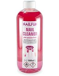 Nailcleaner pink passion fruit 1000ml • Spezial Nagel-Reiniger für die Nagelmodellage in Studioqualität zum reinigen und entfetten - Schwitzschicht-Entferner Nail Cleaner Isopropanol [1 x 1 Liter]