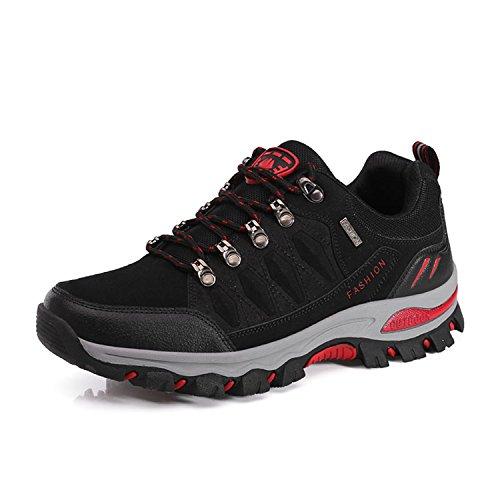 05586be079631a WOWEI Wanderhalbschuhe Outdoor Sports Leichte Bequeme Wanderschuhe Trekking  Halbschuhe Hiking Sneaker für Damen Herren
