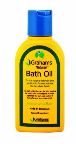 Grahams Natural 120ml Bath Oil (Bath Natural Oil)