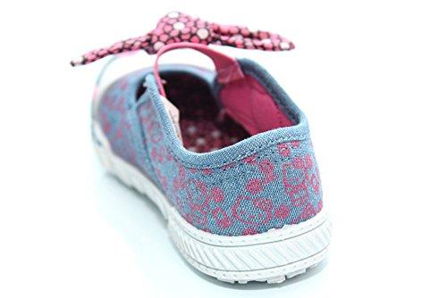 Mr Shoes ,  Mädchen Pumps Denim