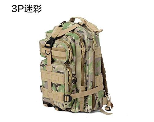 Outdoor zaino camouflage doppia spalla alpinismo borse per gli uomini e le donne nello zaino, tre sabbia camouflage CP Camouflage