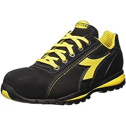 Diadora - Glove Ii Low S3 Hro, zapatos de trabajo Unisex adulto, Negro (Nero), 45 EU