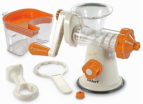 DeFort® Slow Juicer Saftpresse zum schonenden zubereiten klarer Säfte ohne Oxidation Kaltpresse - 3