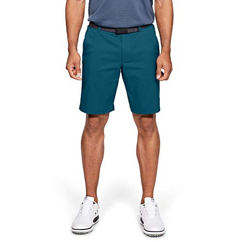 Under Armour Herren Showdown Golf Shorts Vibe (417)/Tandem Teal, 34 - 34 Vibe