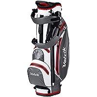 Volvik 359 - Bolsa de Golf, Impermeable, Talla única, Color Blanco, Gris y Rojo