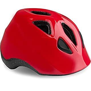 Madison Kleinkinder-Fahrradhelm Scoot Gloss Flame Rot (One Size, Rot)