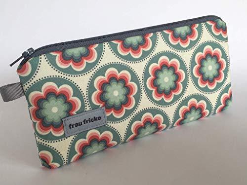 Federmäppchen Federtasche Retro aus Designerstoff Stiftetasche Handytasche -