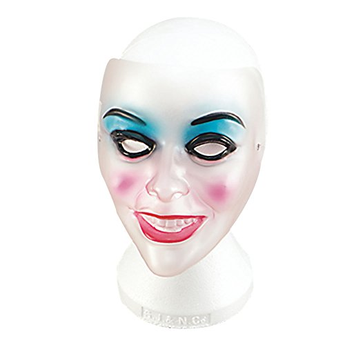 Bristol Novelty pm065 transparent, Maske, weiblich, Damen, Mehrfarbig, One Size (Beängstigend Make-up Halloween Ideen)