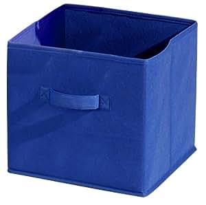 alsapan compo aufbewahrungsbox aus stoff 28 x 27 x 27 cm dunkelblau k che haushalt. Black Bedroom Furniture Sets. Home Design Ideas
