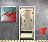 Aufkleber für Türen Duschkabine Ref 870, 93x204cm