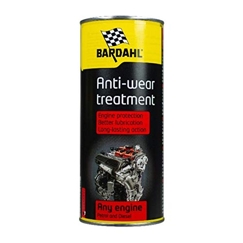 Bardahl Engine Anti-Wear Treatment Trattamento Anti Attrito Anti Usura Per Olio Motore 400 ML Long Lif