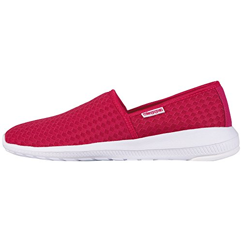 Kappa Cosy, Baskets Basses Femme Rose (Pink/white)