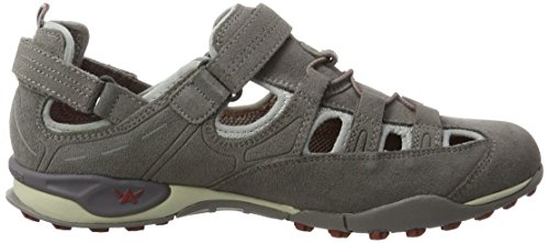 Allrounder by Mephisto Tarantino, Chaussures Multisport Outdoor Homme Gris (cendre)