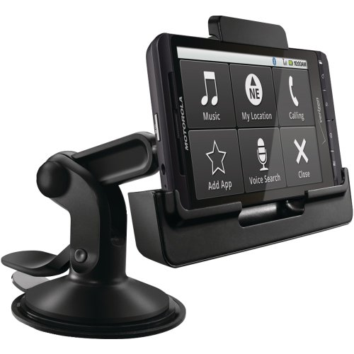 Motorola Vehicle Dock for DROID X & Droid X2 with Rapid Car Charger - Motorola Retail Packaging